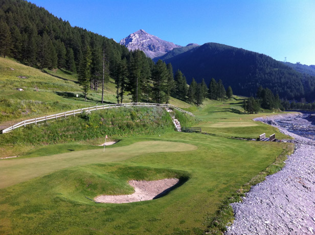 Pragelato golf course